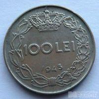 Rumunsko 100 Lei 1943