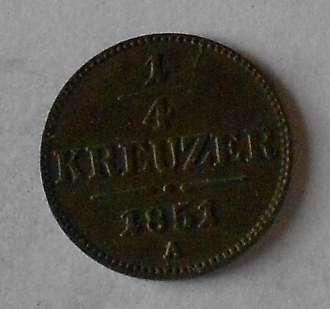 1/4 Krejcar 1851 A stav