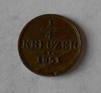 1/4 Krejcar 1851 B