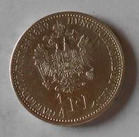 1/4 Zlatník/Gulden 1858 V