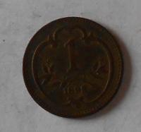1 Haléř 1893
