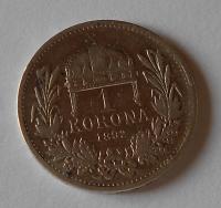 1 Koruna 1892 KB