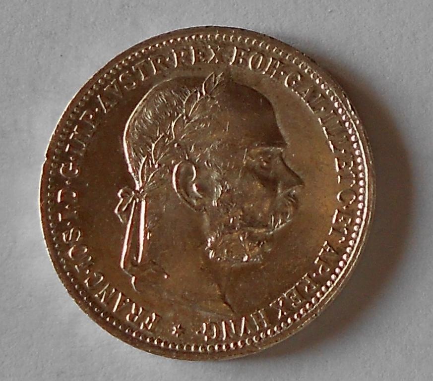 1 Koruna 1893 stav
