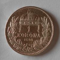 1 Koruna 1894 KB stav