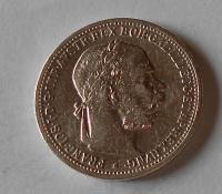 1 Koruna 1895 pěkná