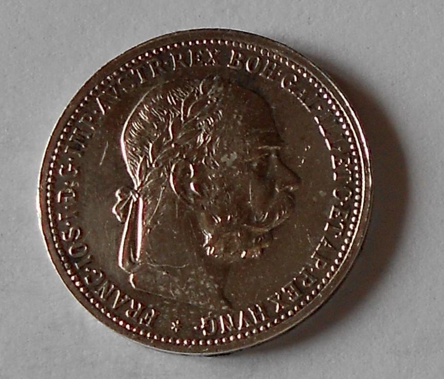 1 Koruna 1896