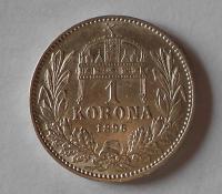 1 Koruna 1896 KB stav