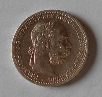 1 Koruna 1898 pěkná