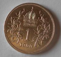 1 Koruna 1900 stav