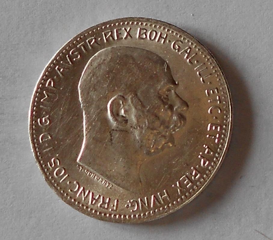 1 Koruna 1916 stav