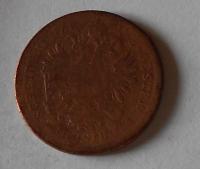 1 Krejcar 1858 E