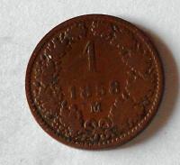 1 Krejcar 1858 M
