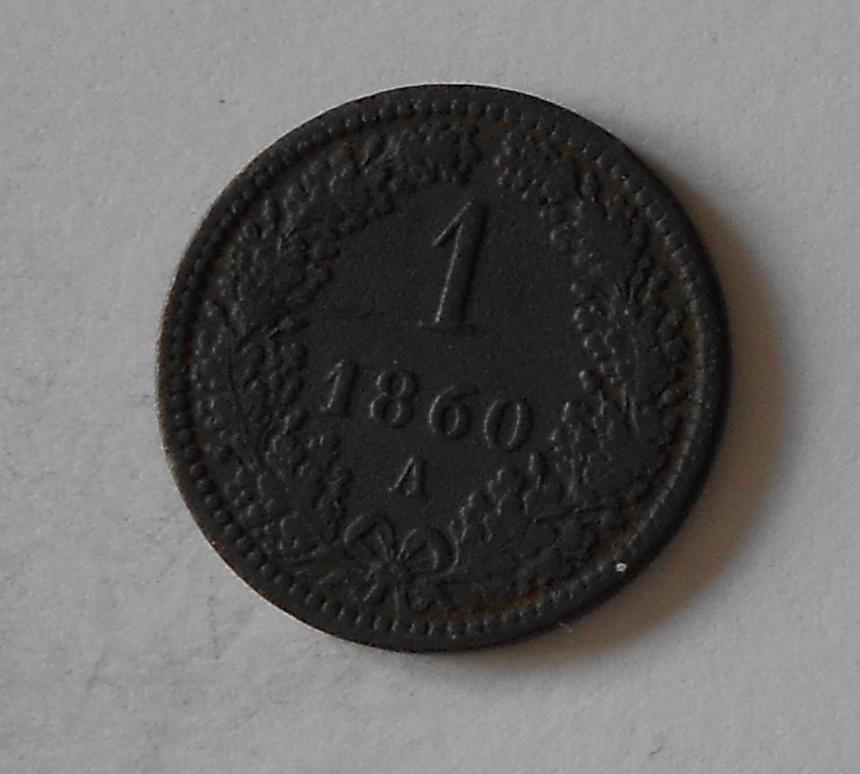 1 Krejcar 1860 A