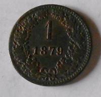 1 Krejcar 1879