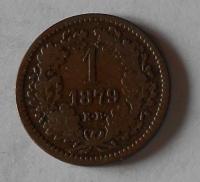 1 Krejcar 1879 KB