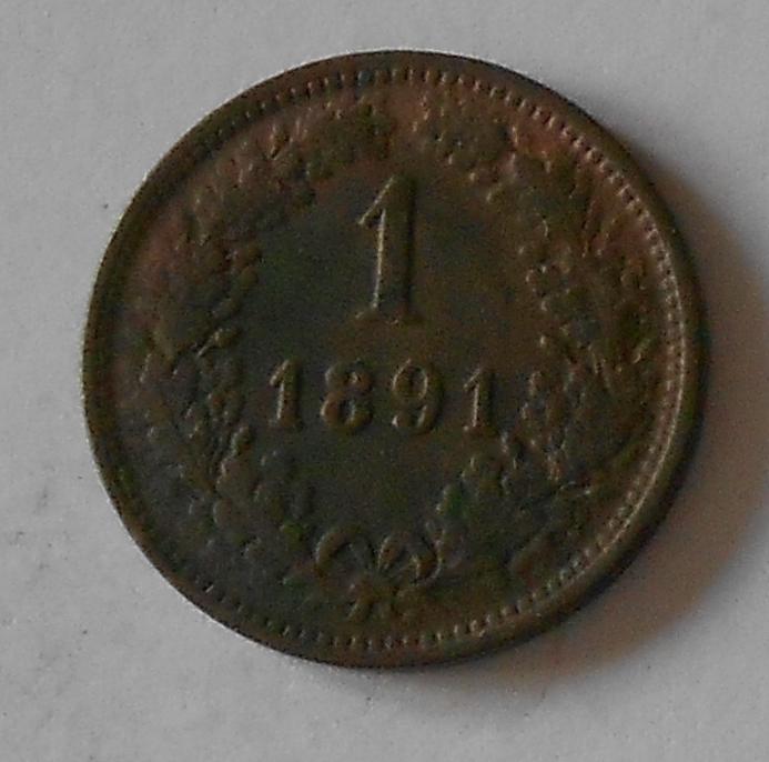 1 Krejcar 1891