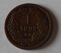 1 Krejcar 1892 KB