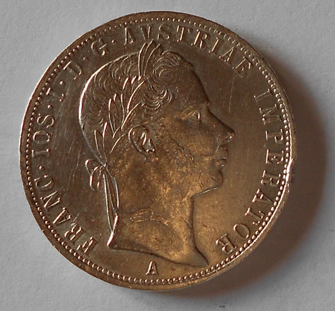 1 Zlatník/Gulden 1858 A