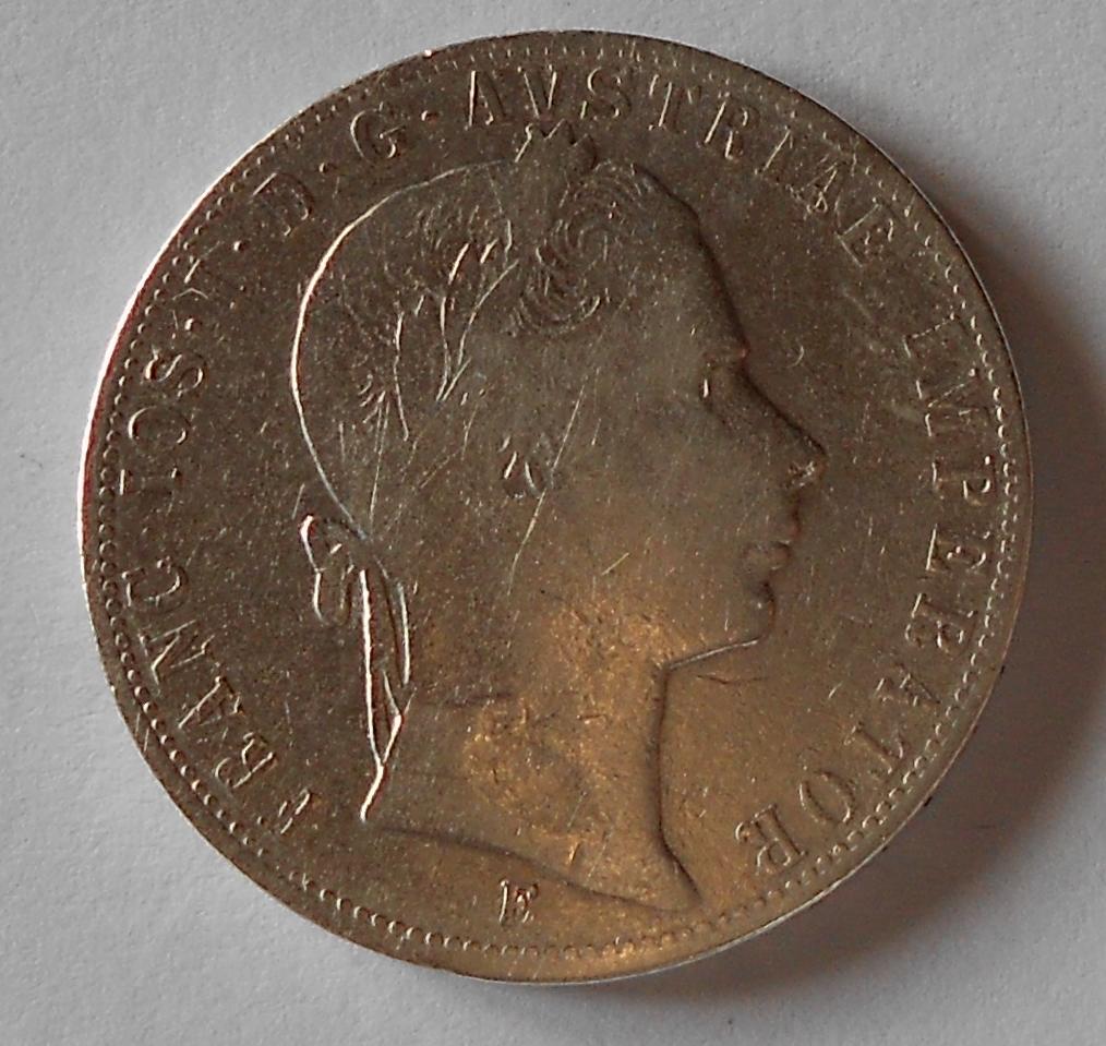 1 Zlatník/Gulden 1858 E