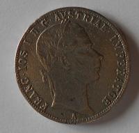 1 Zlatník/Gulden 1860 A dobové falzum