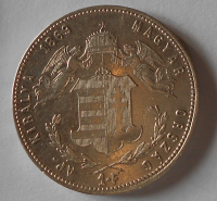 1 Zlatník/Gulden 1869 KB