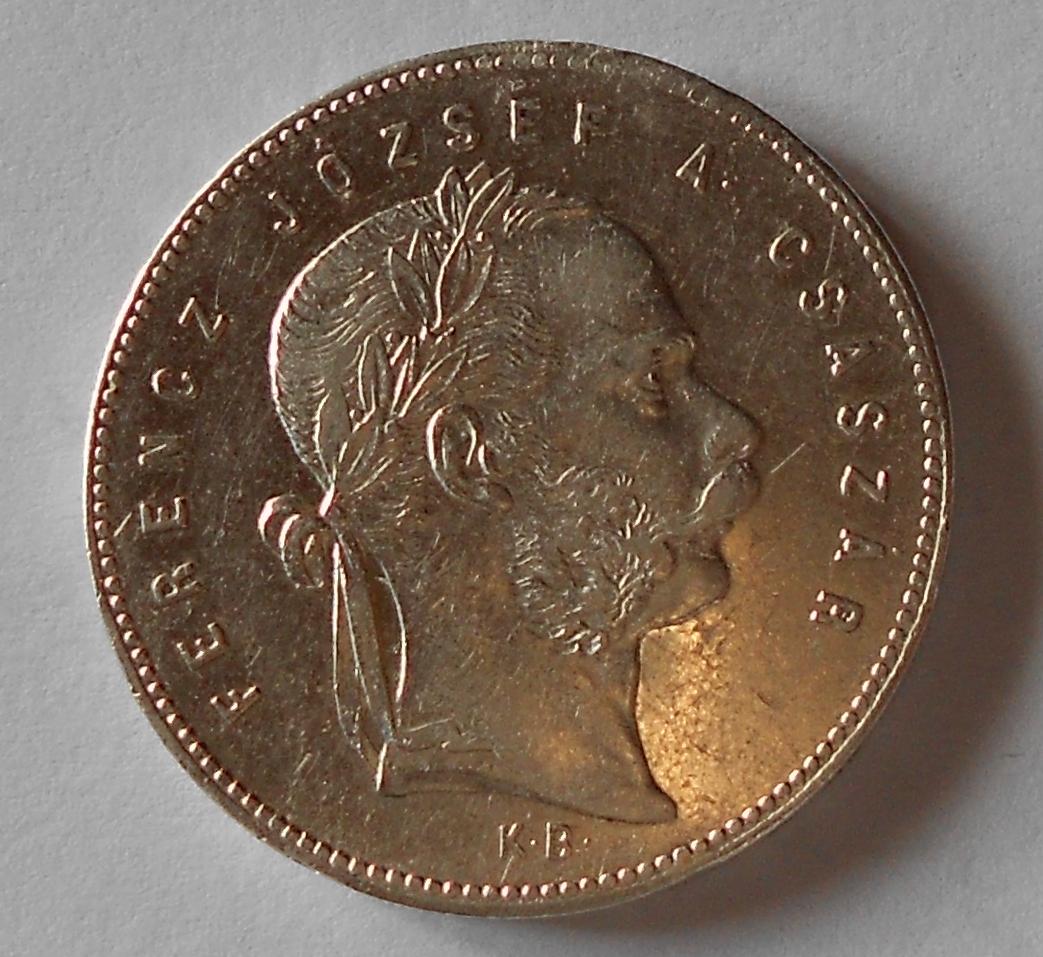 1 Zlatník/Gulden 1869 KB měl ouško