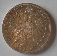 1 Zlatník/Gulden 1871 A