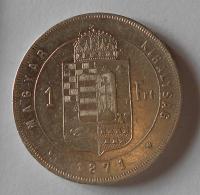 1 Zlatník/Gulden 1871 KB