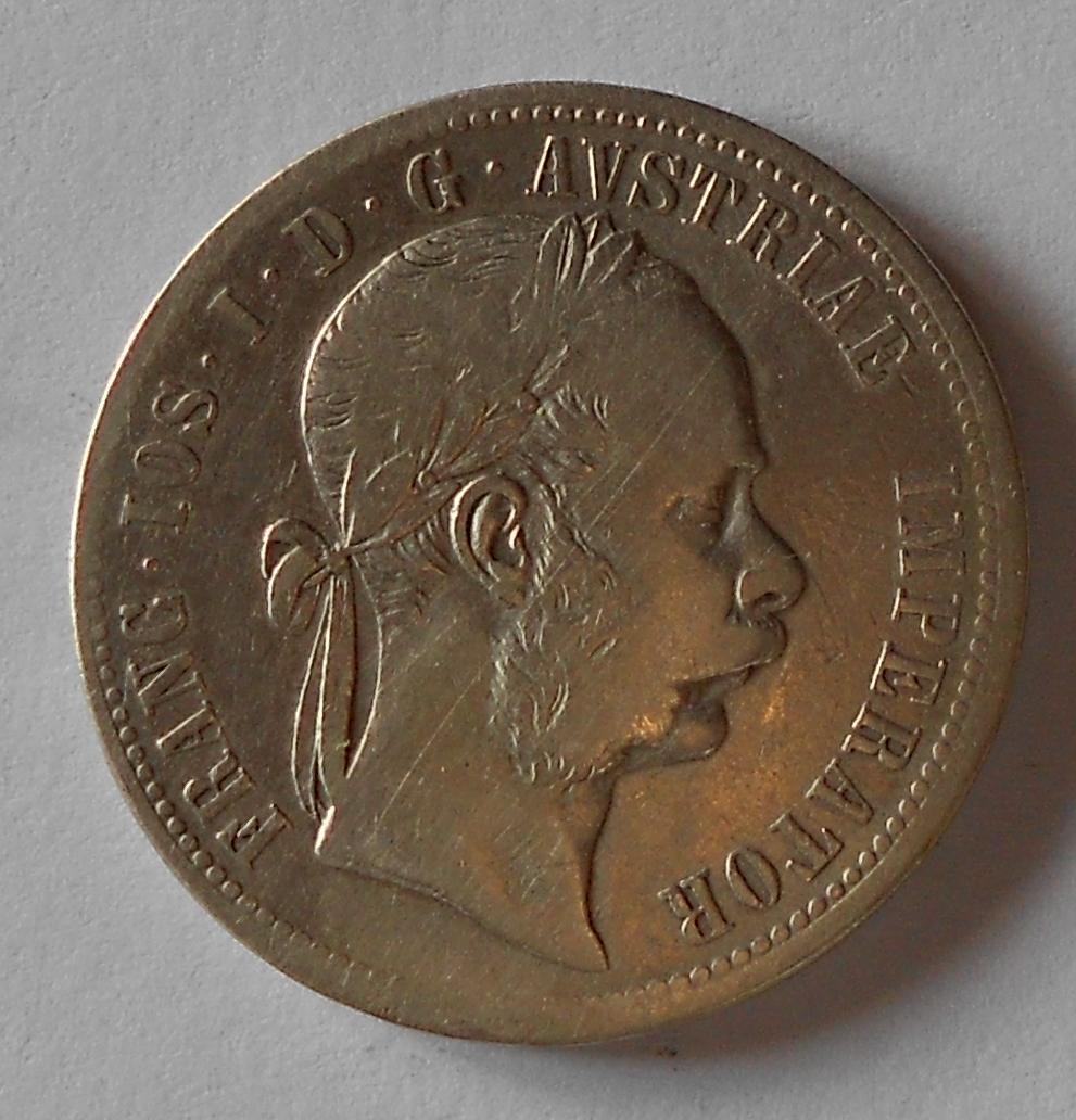 1 Zlatník/Gulden 1872 bz