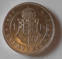 1 Zlatník/Gulden 1884 KB