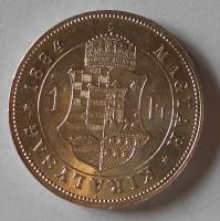 1 Zlatník/Gulden 1884 KB stav