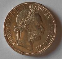 1 Zlatník/Gulden 1885
