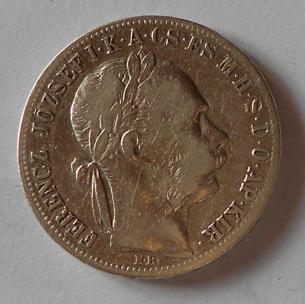 1 Zlatník/Gulden 1886 KB