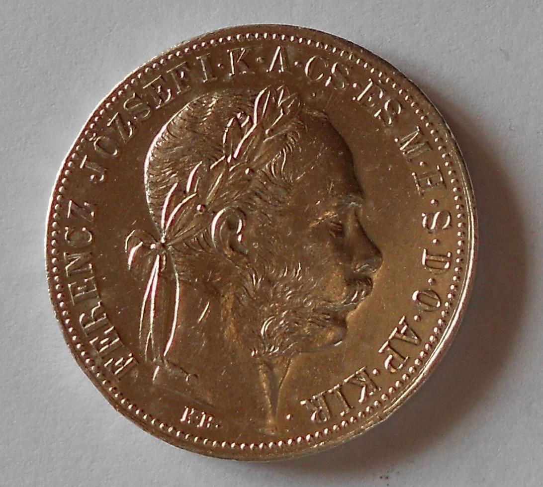 1 Zlatník/Gulden 1888 KB stav