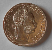 1 Zlatník/Gulden 1889 stav