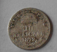 10 Krejcar 1872 KB