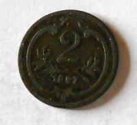 2 Haléř 1897