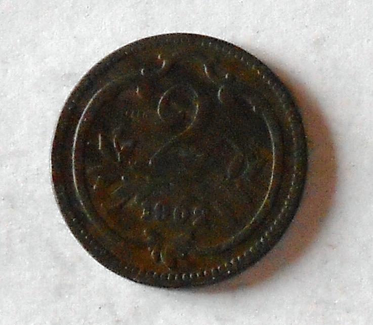 2 Haléř 1902