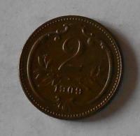 2 Haléř 1909
