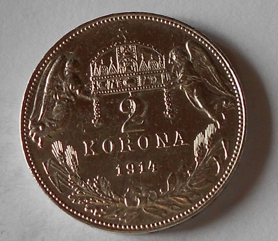 2 Koruna 1914 KB