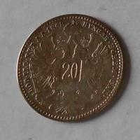 20 Krejcar 1868