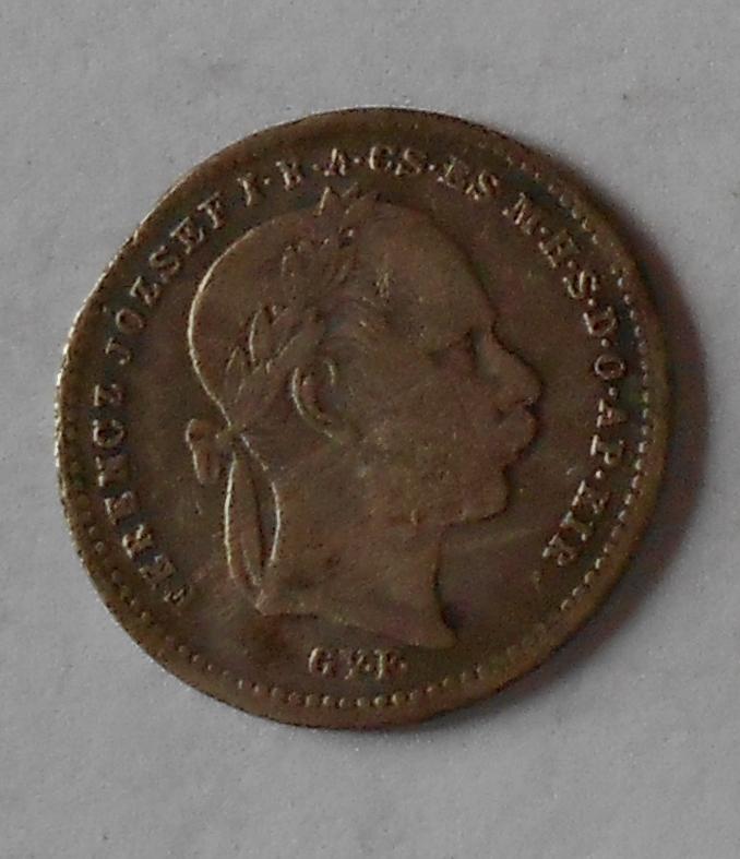 20 Krejcar 1870 GYF Valto Penz