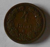 4 Krejcar 1860 B