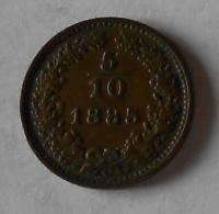 5/10 Krejcar 1885