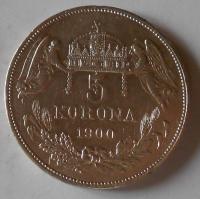 5 Koruna 1900 KB
