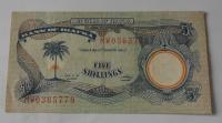 Biafra 5 Schillings 1968