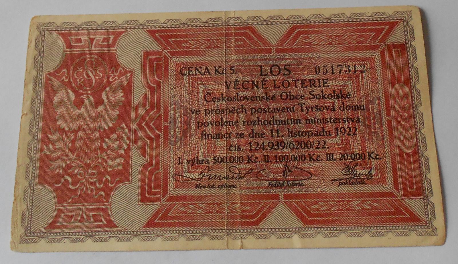 ČSR Los 1922