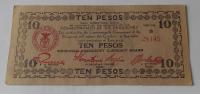 Filipíny 10 Pesos 1943