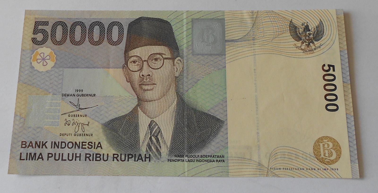 Indonesie 50 000 Rupie 1999