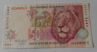 J – Afrika 50 Rand, lev